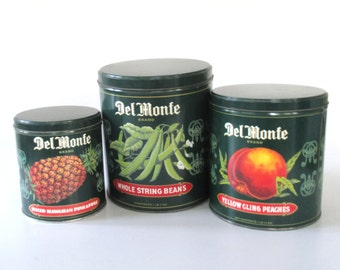 Del Monte Nesting Tins - Set of 3