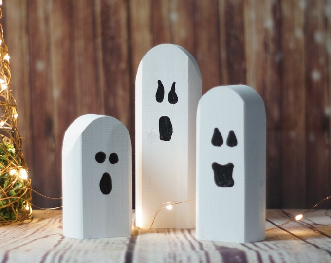 halloween decorations and home decor etsy - Wooden Halloween Decorations