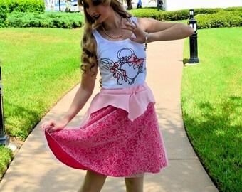 Sleeping Beauty Inspired Skirt