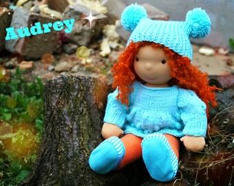 SALE 15% OFF,Waldorf doll, waldorf inspired doll, steiner doll, doll waldorf, cloth doll, fabric doll, cuddle doll, handmade