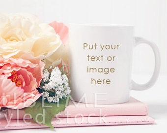 Mockup / Mug Mockup / Blank Mug / Product Styling / Product Mockup / Styled Stock Photography / Coffee Cup / StockStyle-672