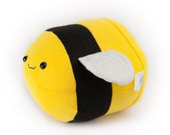 Bumble bee, Felt taxidermy bee, bee trophy mount, children's bedroom decor, bee taxidermy, stuffed bee