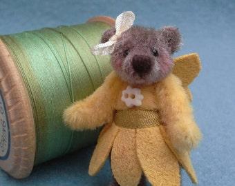 SOLD ! The Buttercup Fairy teddy bear