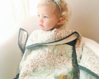Baby Quilt // Don't Be a Square Quilt // Baby Bedding//Little Hopper Collection