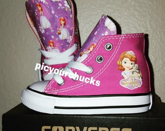 Toddler/Kids Sofia the First Converse