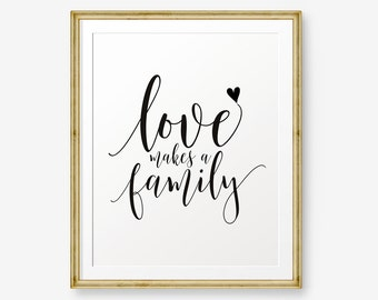 Family Quote Beauteous Family Quote  Etsy