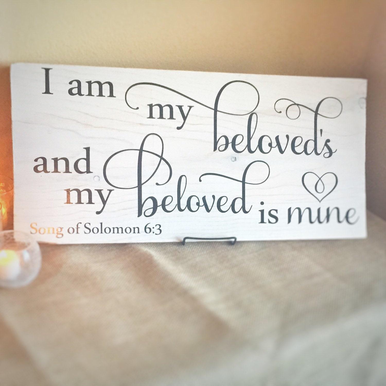 Bible Verse Sign Wood Scripture Song Of Solomon