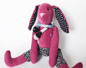 Cute bunny toy