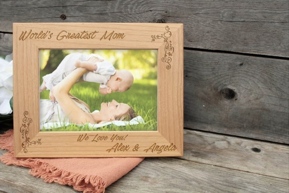 Happy Mother S Day Frame Mom Gift Rustic Frame Best