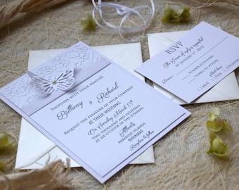 butterfly invitation  etsy, invitation samples