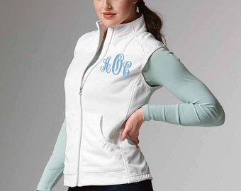 Monogrammed Charles River Breeeze Vest- Personalized Embroidery!