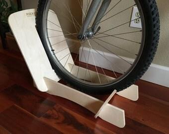 Single Ox - Bike Floor Stand (Birch Wood)