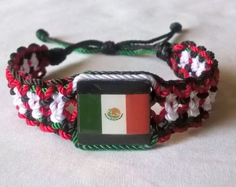 Choose your favorite country flag Bracelet