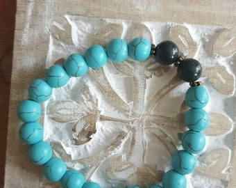 Gorgeous summer time beaded bracelet