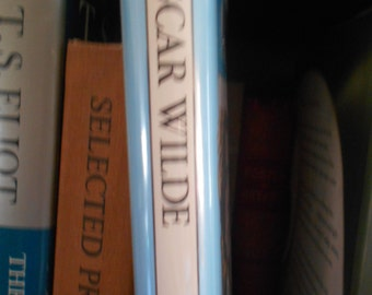 Osacar WIlde edited by Harold Bloom. Hardcover.