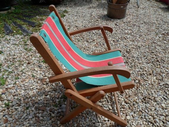 Childs deck chair Folding chair Garden chair Beach Chair