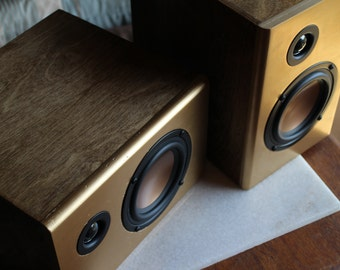 SALE: Audiophile Reference Speakers (pair) > Bookshelf Speakers > Passive > 2ways > Artisan Crafted > Sound System > Made in CALIFORNIA, USA