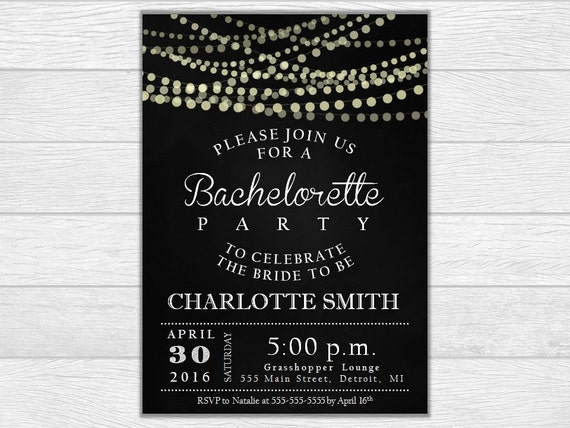 Bachelorette party invite, bachelorette party invitation, bachelorette invitation, printable invite, printable invitation, wedding invite