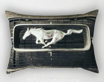 Mustang Grille Sepia 12x17 Rectangular Pillow Cover Photo Art Tmc Home