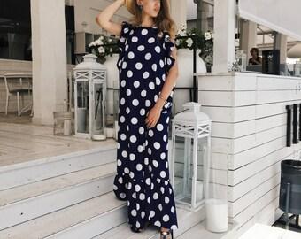 dress 'oversized dot'