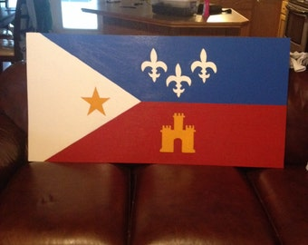 Acadian Yard Sign