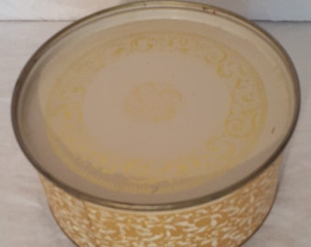 Gold Guildcraft New York Tin with Lid, Vintage Cookie Tin, Biscuit Tin, Gold Detailed Tin, Guildcraft Cookie Tin, Collectable Tin,Gold Decor