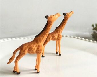 1pcs 50mm resin giraffe Cabochon / Miniature / Charm / Figurine / Dollhouse