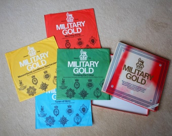 Military Gold - 1979 UK Ronco Records, 4 LP Vinyl Box Set