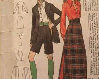 Vogue Paris Original Wardrobe Pattern 2615 by Christian Dior