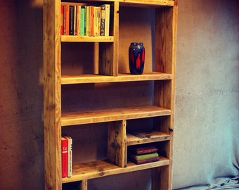 Reclaimed Wood Bookcases / Ideas and Inspiration - Handmade & Bespoke