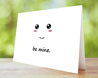 Be Mine 5x7 Card Print