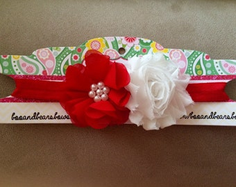 Valentine and Christmas headbands