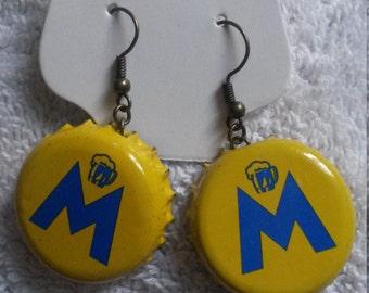 Moritz Bottle Cap Earrings