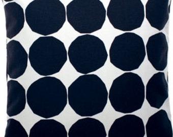 "Marimekko Pienet Kivet UPHOLSTERY grade pillow case, 18x18"" (45x45cm)"