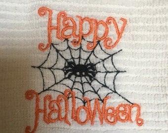Happy Halloween Bib/ Bodysuit or Burp