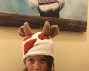 Freckles Mooo Hat