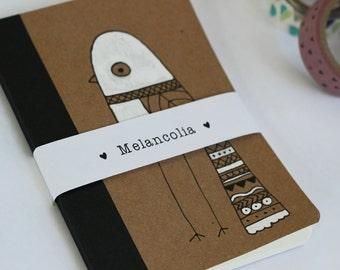 Notebook White Bird