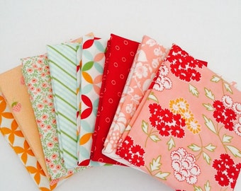 1/2 Yard Bundle Hello Darling by Bonnie and Camille for Moda- 8 Fabrics