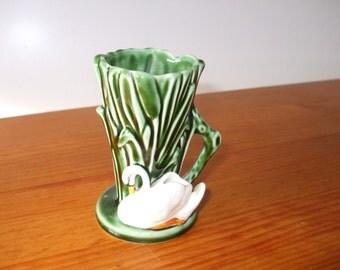 Sylvac Swan vase