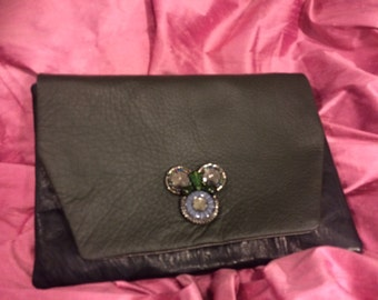 MsBs Oversized Flap Clutch