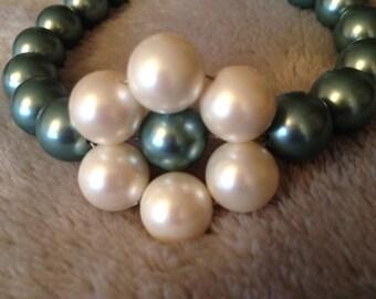 Pearl daisy bracelet