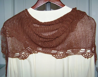 Cotton Beaded Shawl