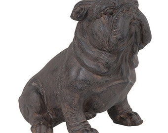 Delightful Bronze (effect) British Bulldog