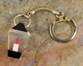 Vintage Lantern Key Chain, Key Lanyard