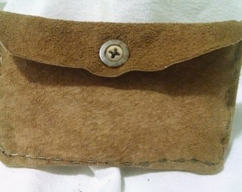 Thin Suede Pouch