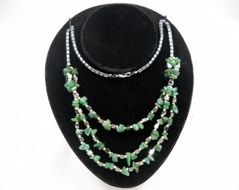 Beaded Necklace Multi-Strand