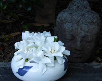 Porcelain flower bowl