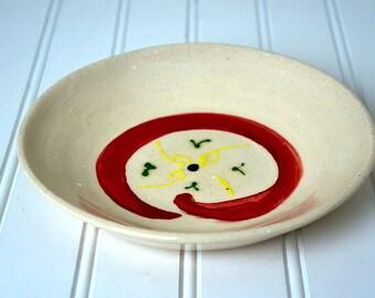 Swirl Ravioli Plate