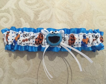Cookie Monster Garter
