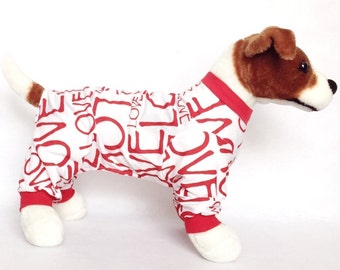 Neeko's Dog Pajamas - Handmade Dog Clothes, Dog Clothing, Dog Apparel